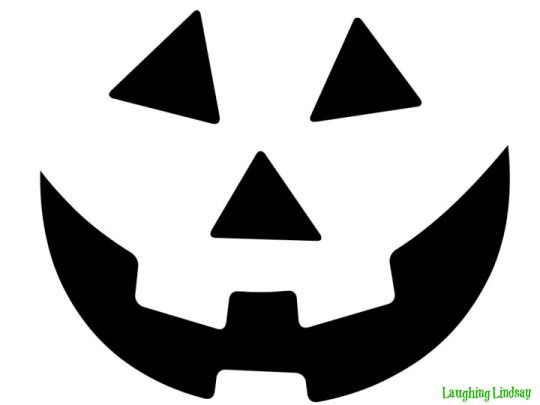 image regarding Printable Jack O Lanterns referred to as Cost-free Printable basic humorous jack o lantern facial area stencils
