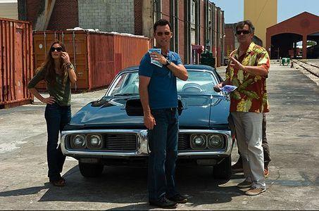 Photo of Jeffrey Donovan  - car