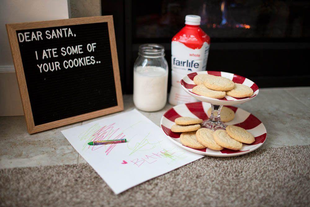 Milk Cookies For Santa Trial Run Christmas Christmas Sugar