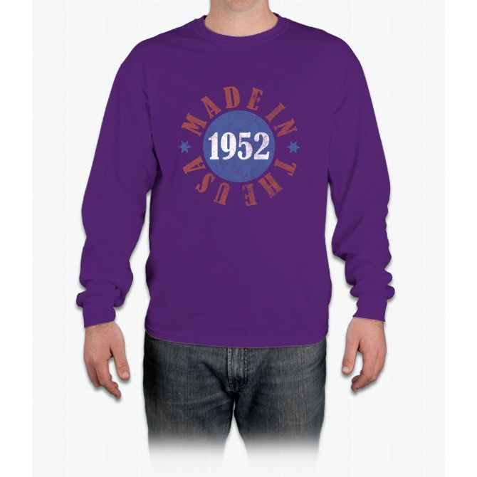 1952 Made In The Usa Long Sleeve T-Shirt