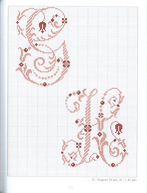 Gallery.ru / Фото #91 - Belles lettres au point de croix - logopedd