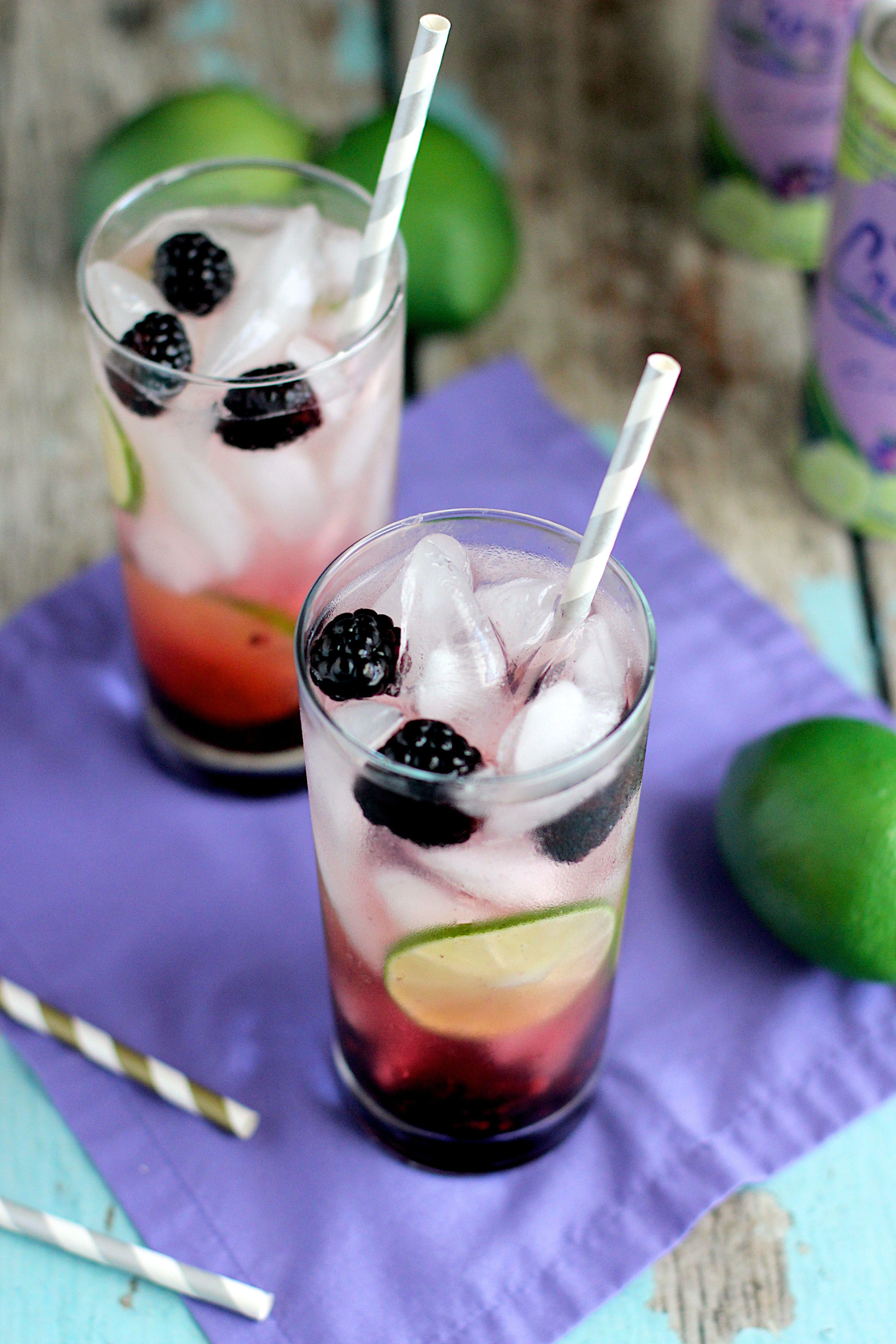 Blackberry Lime Vodka Fizz | Recipe | Vodka fizz recipe ...