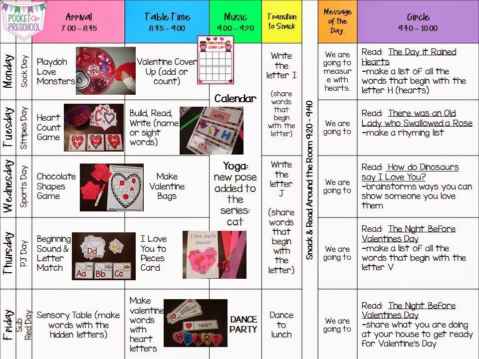Friendship Week lesson plans full of friendship and valentines fun