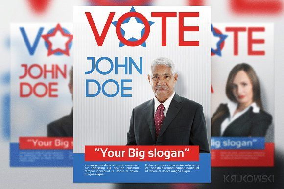 Vote Election Flyer Template Flyer Template Template And Graphics