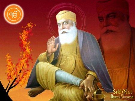 Pin Na Doske Guru Nanak Dev Ji Baba nanak hd wallpaper