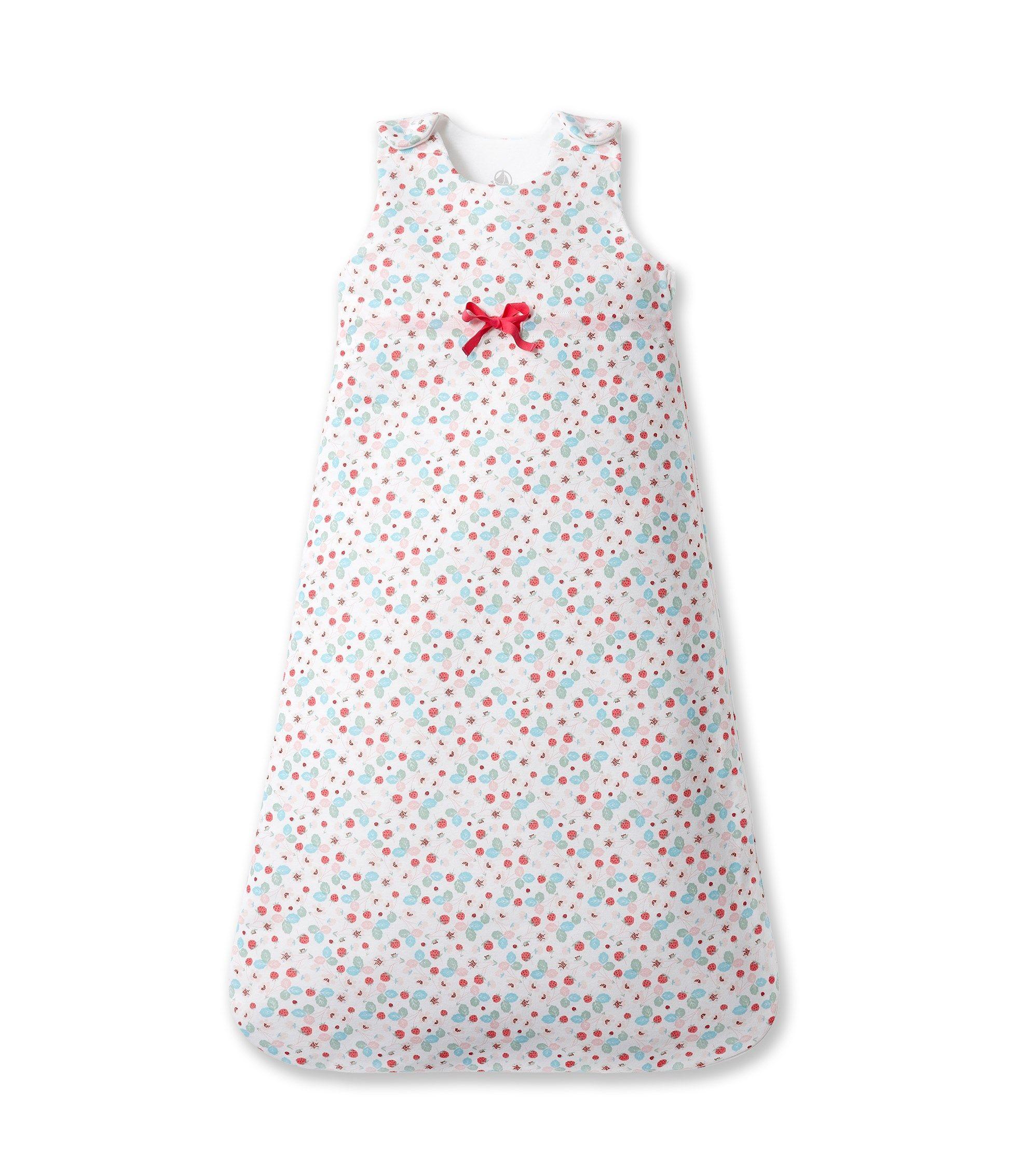 4f9d358adc6 Gigoteuse bébé fille imprimée fraises Blanc - Petit Bateau ...