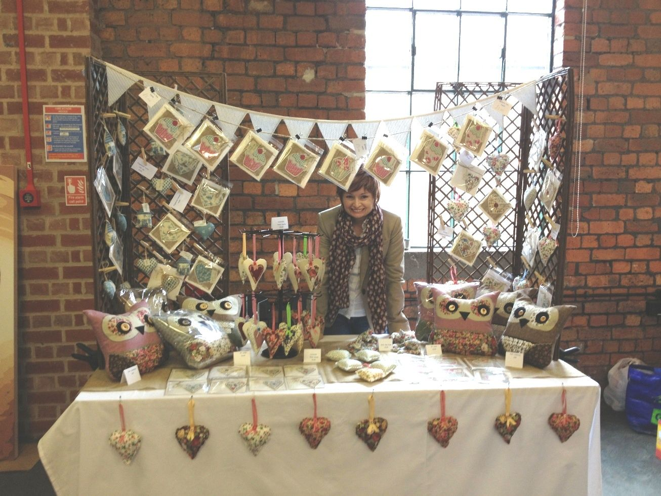 Craft Fairs Christmas Decorations Idea Craft Stall Display
