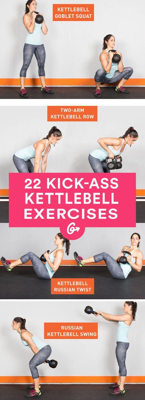 Full Body Kettlebell Workout For Women Full Body Kettlebell Workout Kettlebell Workouts For Women Kettlebell Workout