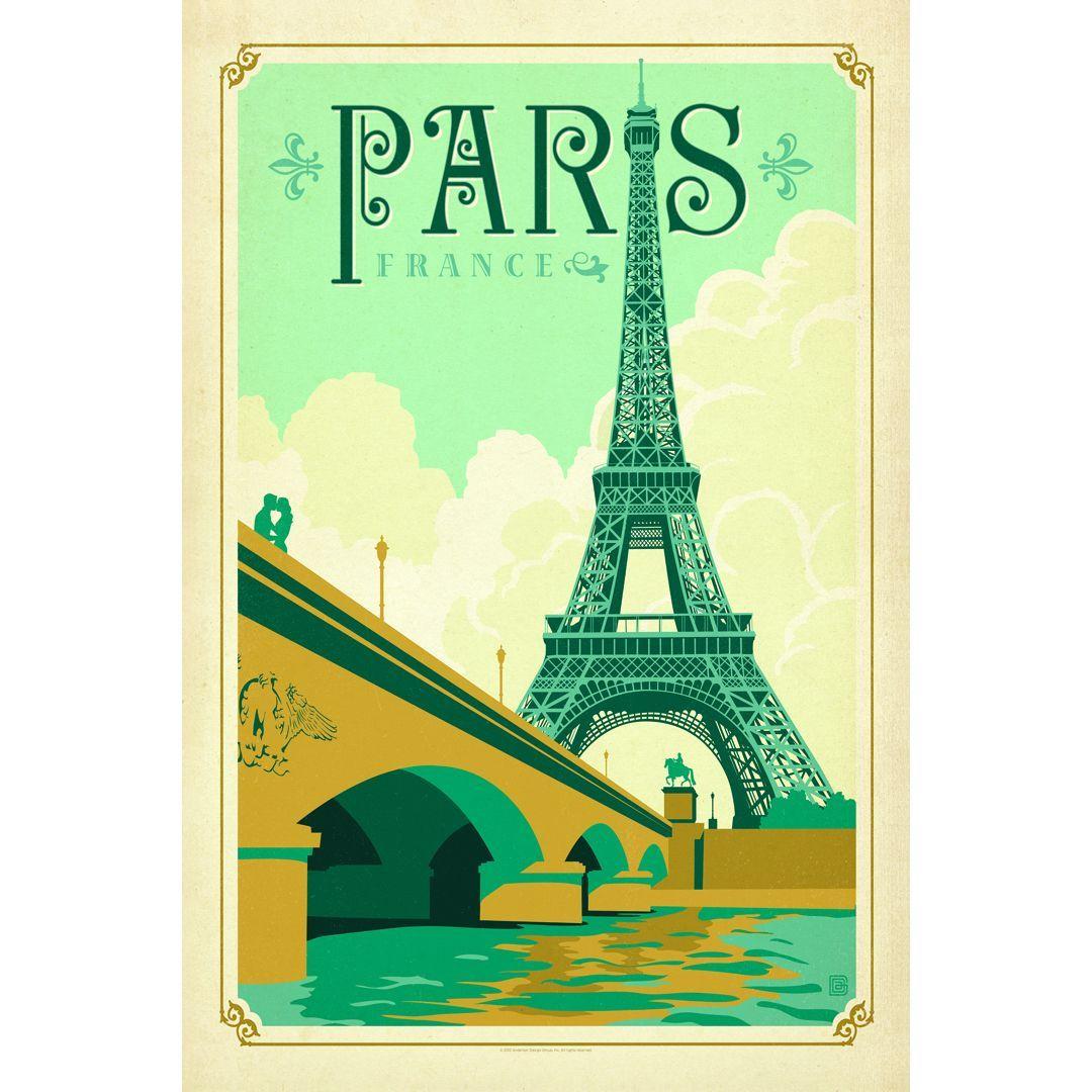 Portfolio Canvas Decor Anderson Design Group \'Paris \' Framed Canvas ...