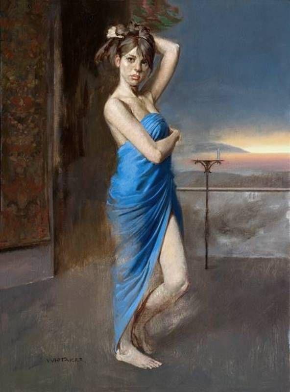 MariaJose: Pintura Realista William Whitaker