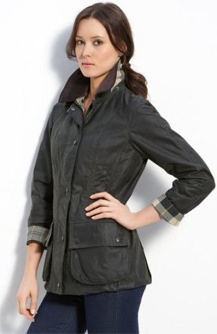 1899aeeef Barbour 'Beadnell' Waxed Cotton Jacket | Nordstrom | Jackets | Waxed ...