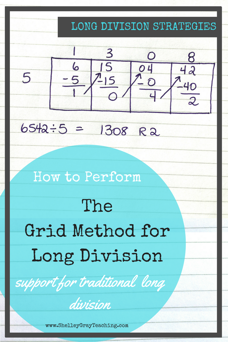 The Grid Method is intended for those who plan to teach traditional ...