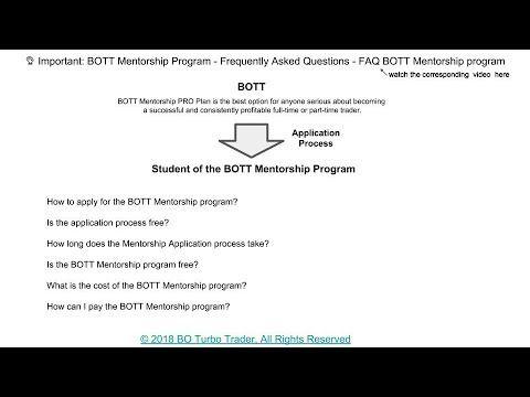 Binary options mentorship