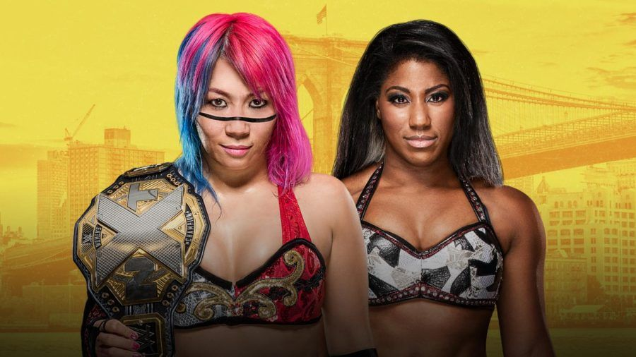Nxt Takeover Brooklyn Iii Results Asuka Vs Ember Moon Nxt Women S Championship Wrestling News Black Wrestlers Wrestling News Wwe
