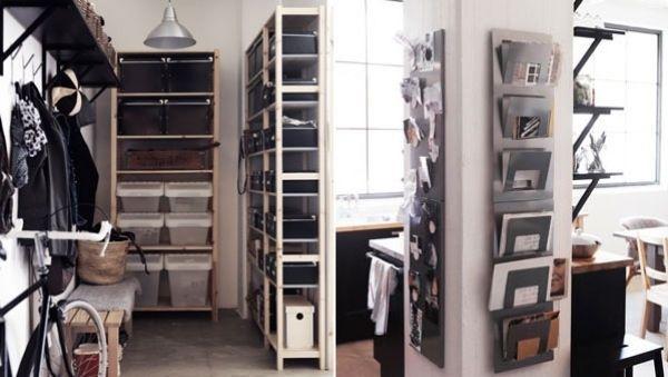 Stauraum Idee-Ikea | Wohnen | Pinterest | Kleine wohnung einrichten ...