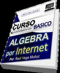 Curso Basico de Algebra por Internet