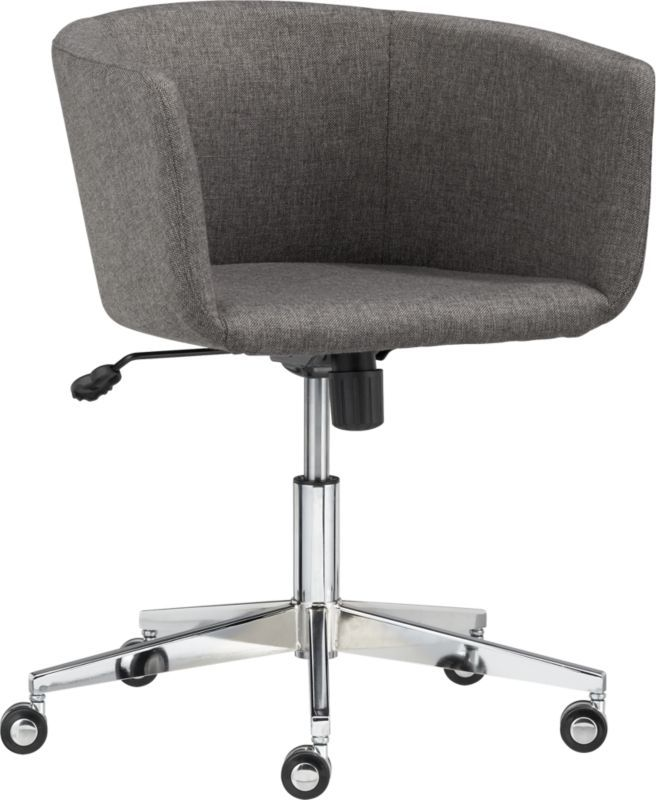 Coup Grey Office Chair Cb2 Desk Chair Option For Boys Rms 299