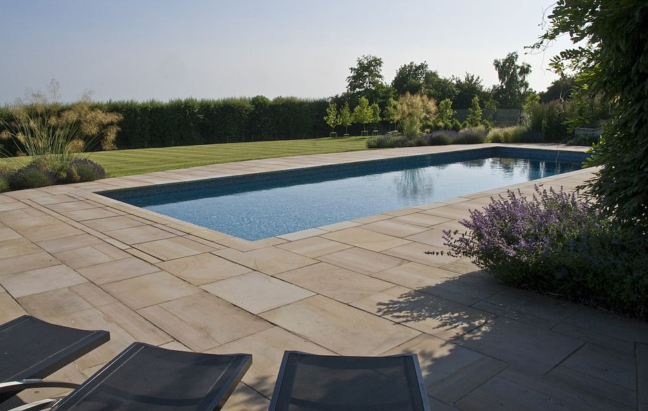 Acres Wild Hillside Haven Pool Garden Swimming Pool Country Garden Design Garden Cabins