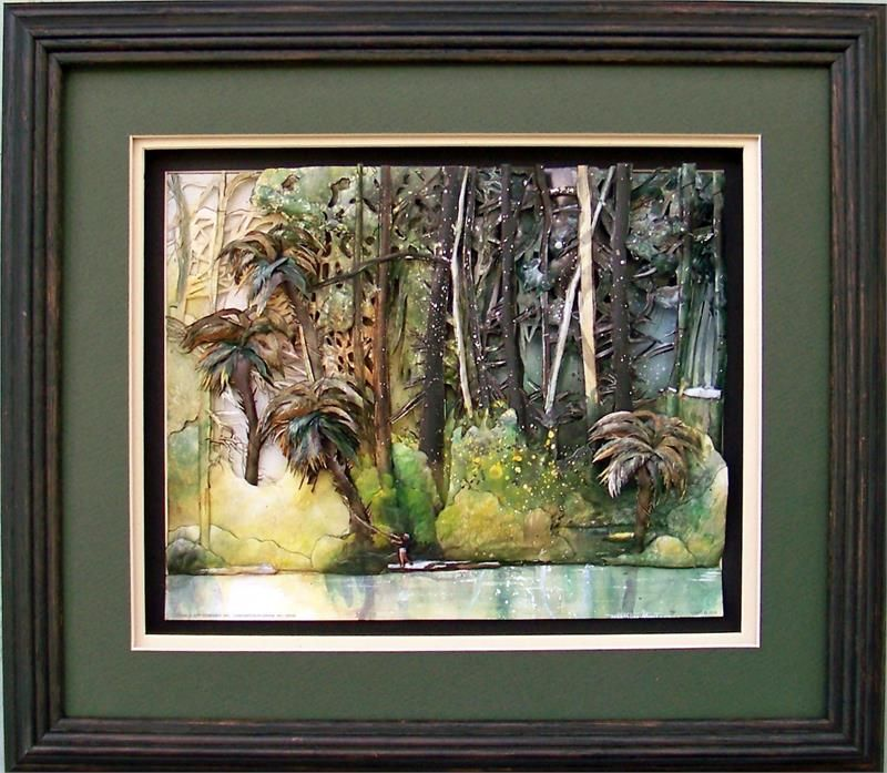 Oak Shadow Box Frame # 750 12x14 for pictures size 8x10 inches ...