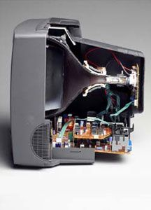 The Cathode Ray Tube Crt Was An Essential Component In Early Televisions Crt S Are Considered To Be One Of The Hardest Types Of Crt Tv Vintage Tv Tv Panel