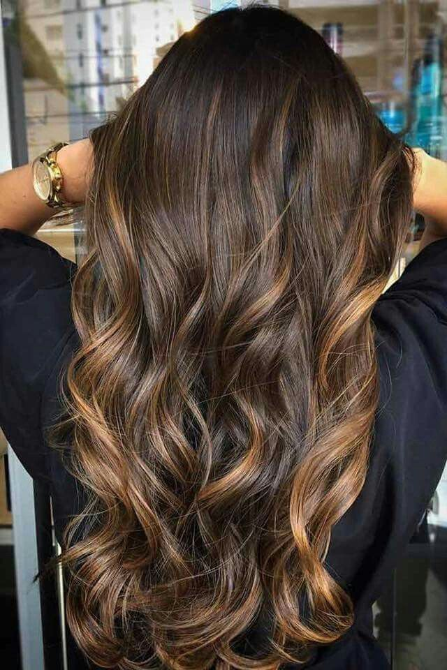 Pin By Nihed 15 On Beaut Pinterest Color Highlights Balayage