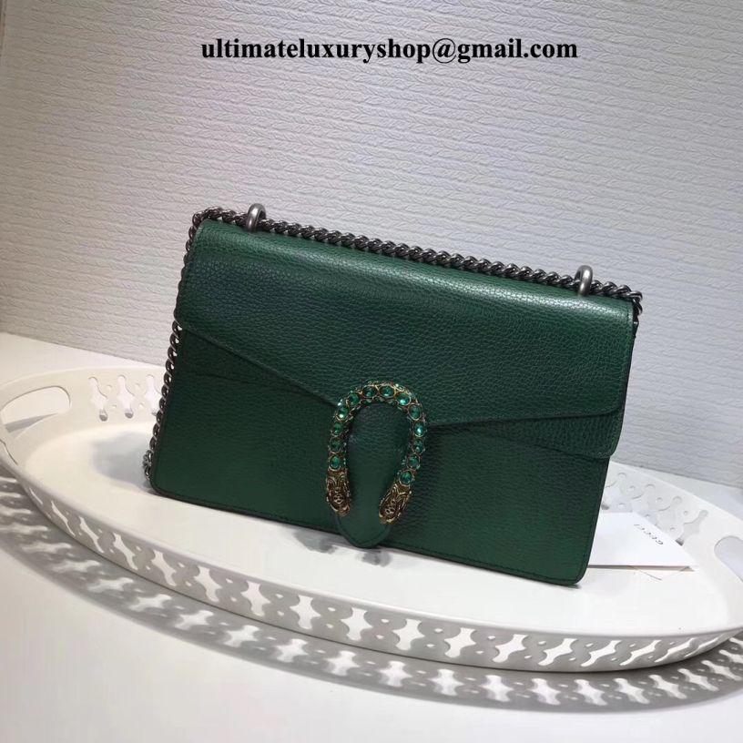 ea2529149e5e Authentic Quality Perfect 1:1 Mirror Replica Gucci Dionysus Emerald Green  Leather Super Mini Bag. Luxury Designer ...
