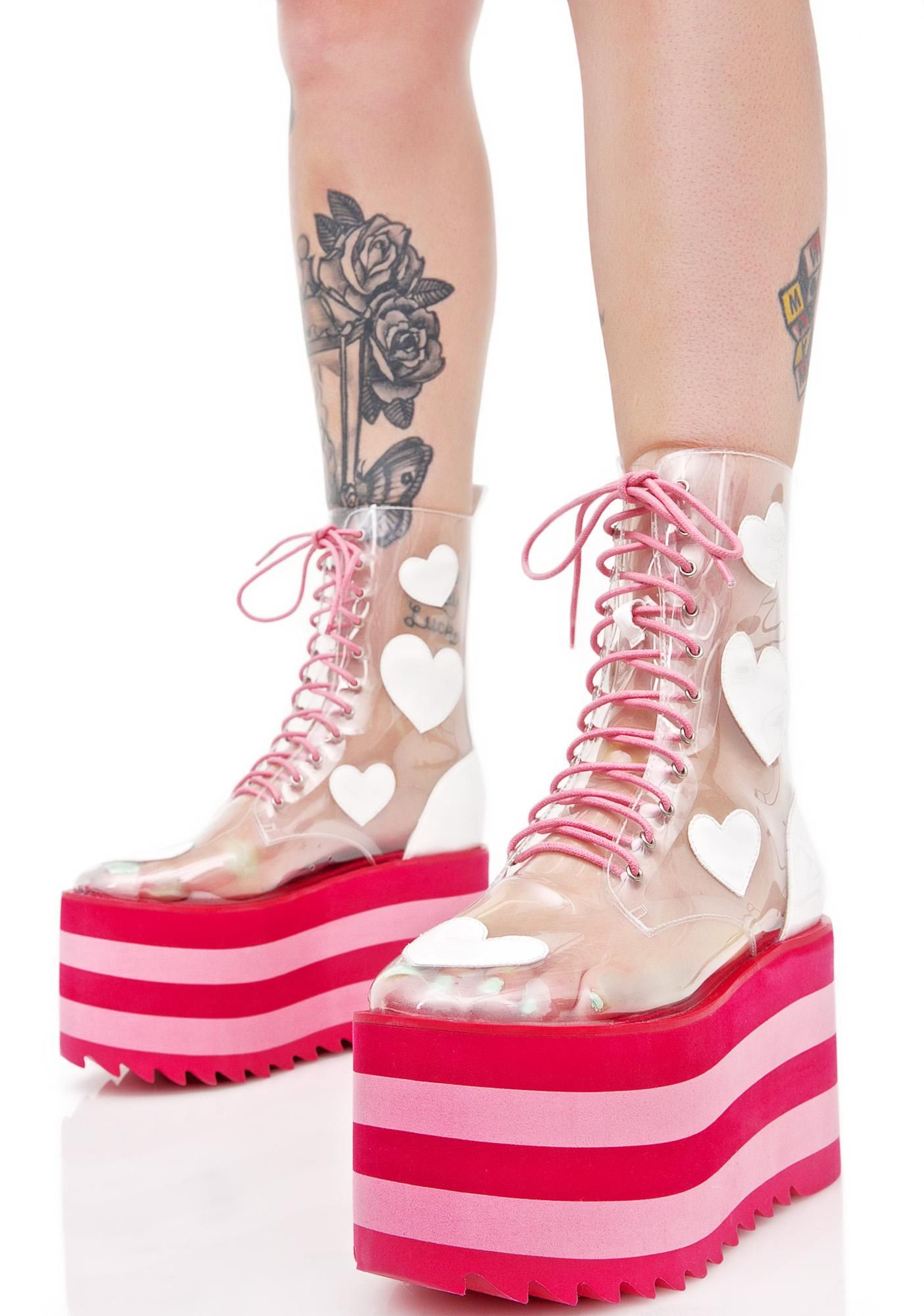 3d4243ec6b6 Design + Product Development + Production for Dolls Kill -- Sugarbaby Lovesick  Boots