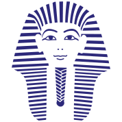 King Tut 1 Color Pharaoh Tutankhamun T Shirt Design By Spreadshirt Com Tutankhamun King Tut Pharaoh