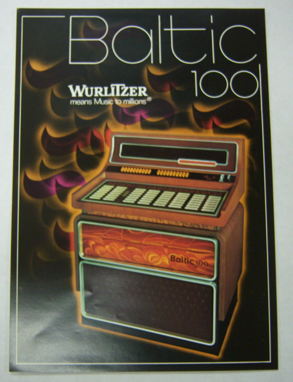 Wurlitzer+Jukebox+Price+Guide   ... 1970s Jukebox Advertising Brochure for