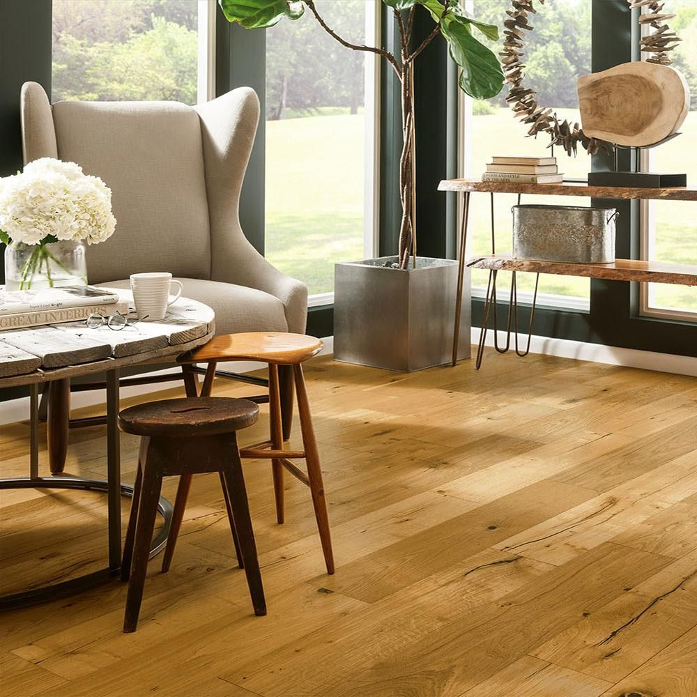 Bruce Revolutionary Rustics White Oak Natural 1 2 In T X 7 1 2 In W X Varying L Engineered Hard Engineered Hardwood Flooring Engineered Hardwood Rustic White