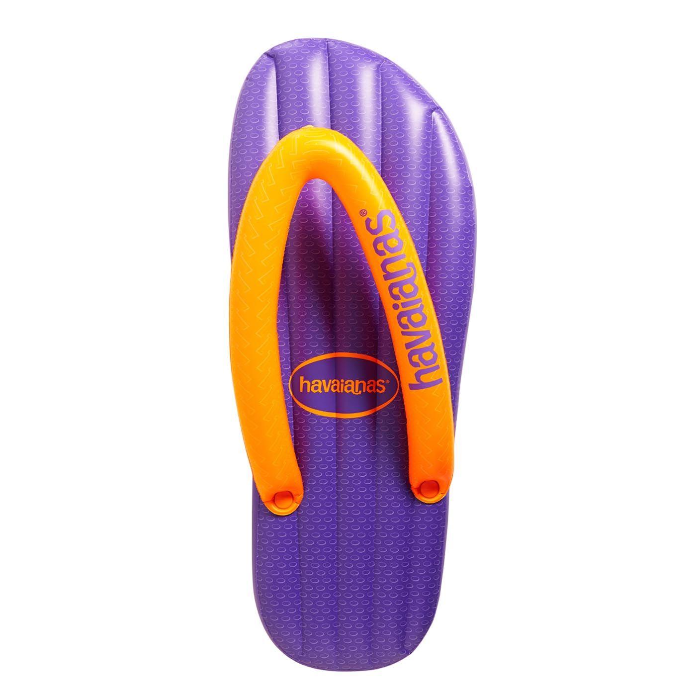 Top Mix Violet Inflatable Havaianas Orange And Purple Violet