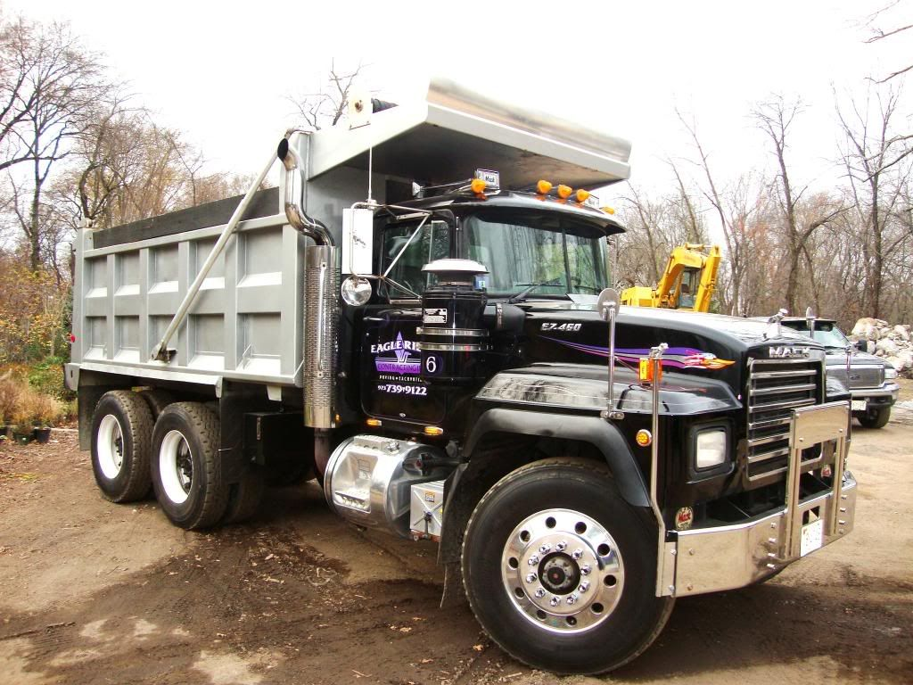 small resolution of mack trucks used mack truck mack tandem dump truck for sale rd 688s for sale