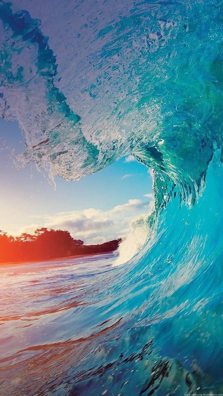 ocean wave wallpaper by StefanVrsc - ce - Free on ZEDGE™