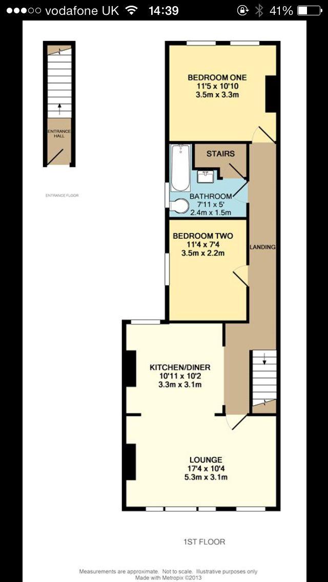 Warner Flat Alternative Floor Plan Warner Warnerflat Warnerflats Walthamstow E17 Floor Plans Flooring Home Interior Design
