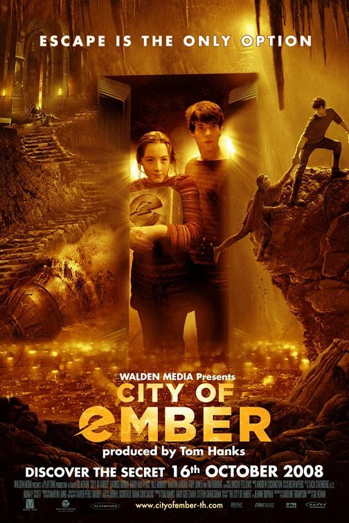 City Of Ember Movie Poster City Of Ember Steampunk Movies Family Movies