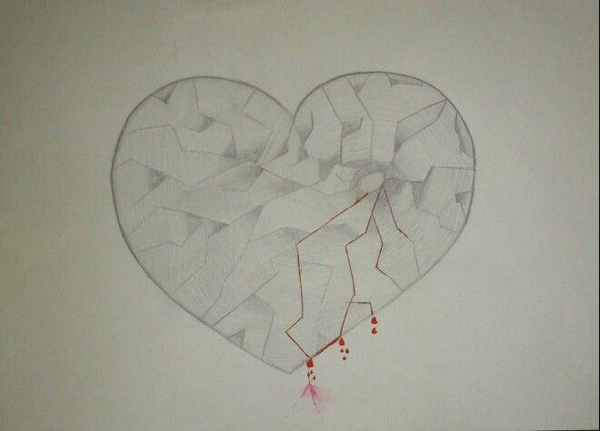 gebrochenes herz  gebrochenes herz zeichnungen