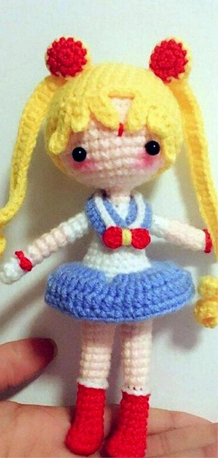 Sailor Moon Plush Amigurumi Doll Crochet Pattern Only | Etsy | 1510x720