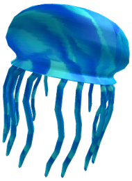 Roblox Blue Jellyfish Png Image With Transparent Background Png Free Png Images Blue Jellyfish Image Roblox