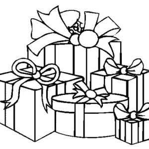 Christmas Presents, How To Draw Christmas Presents Coloring Pages ...