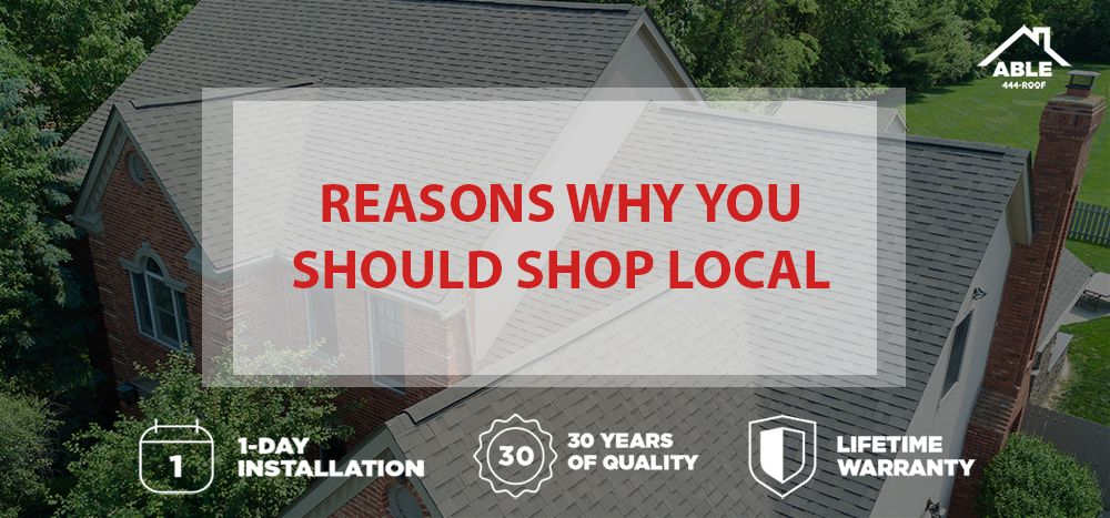 Choose Local Roofing In Columbus Oh Able Roof Is Here For You And All Your Exterior Home Needs Roofing Locals House Exterior