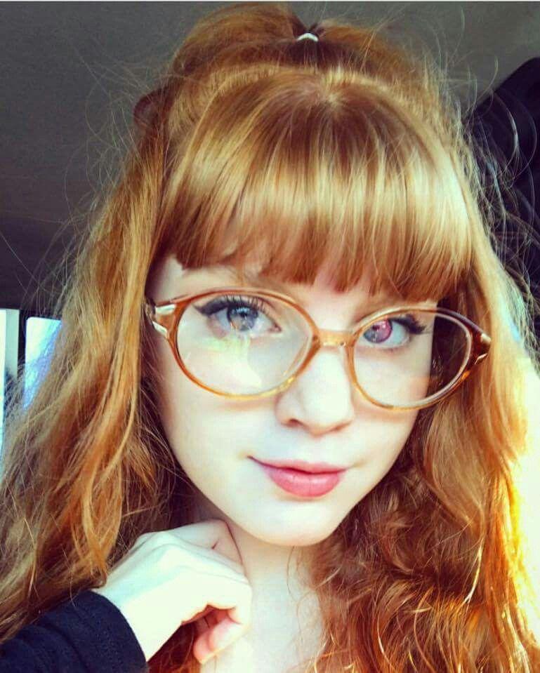 redhead glasses porn
