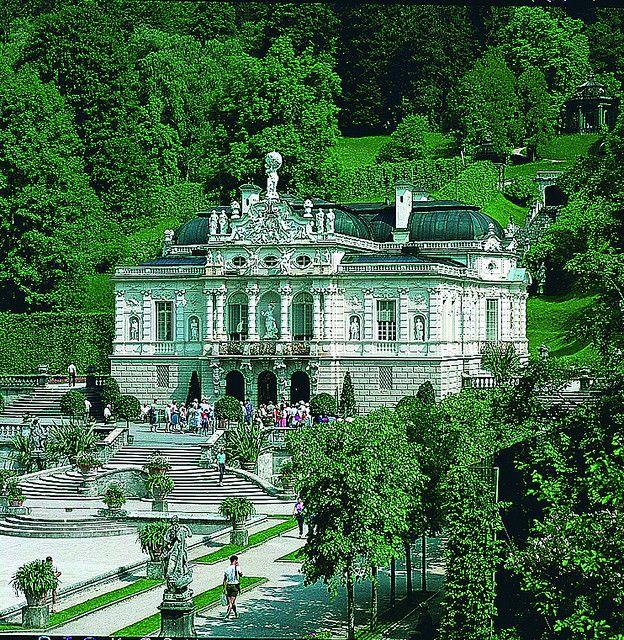 Linderhof Romantic Road Germany Neuschwanstein Castle Linderhof Palace Romantic Road