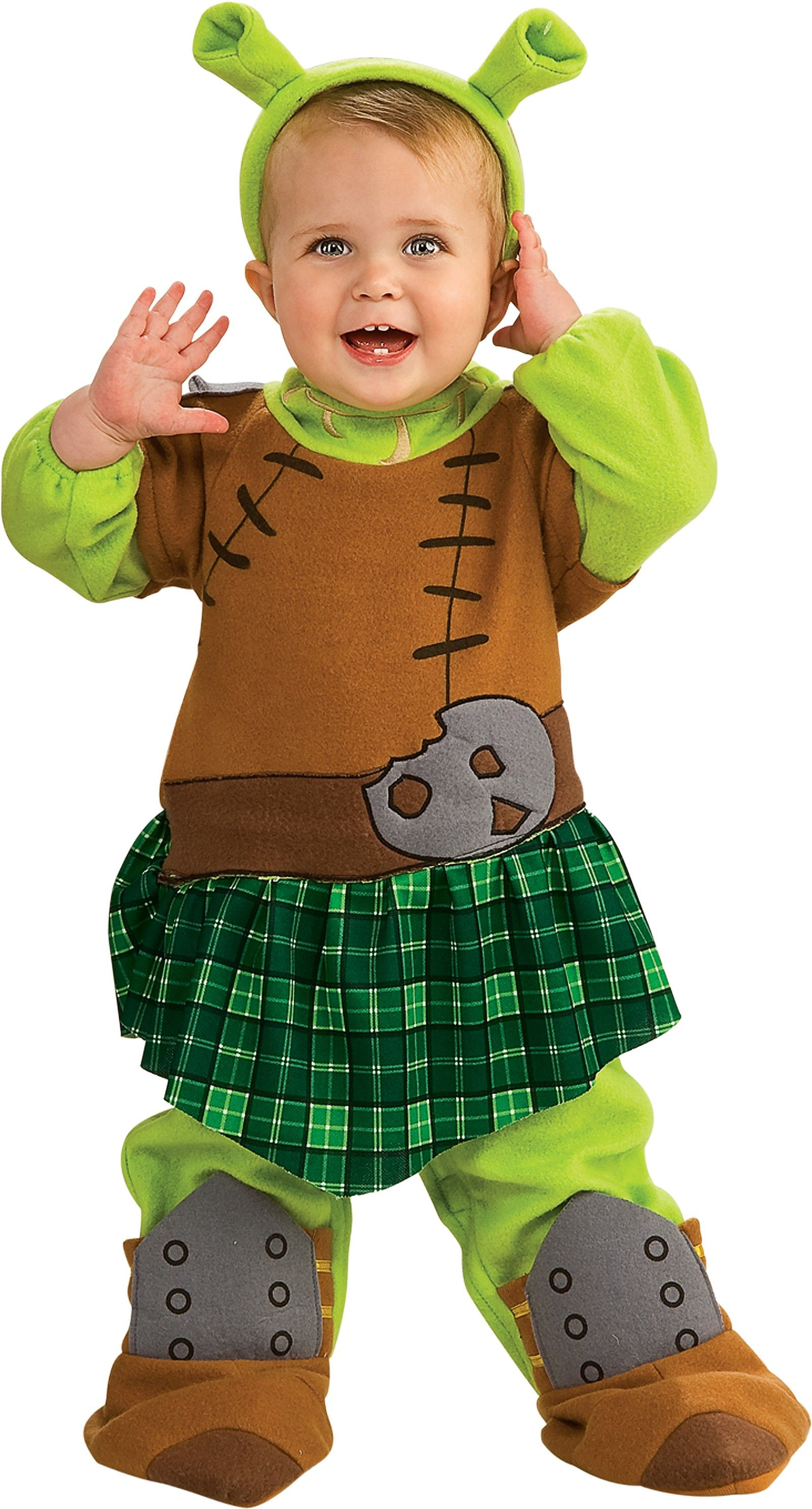 Shrek Forever After Fiona Warrior Infant Toddler Girl S Costume Toddler Costumes Girl Newborn Halloween Costumes Baby Costumes