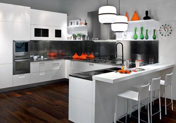 Idee Cucina Con Isola: Arredamento cucina e soggiorno insieme cucine ...