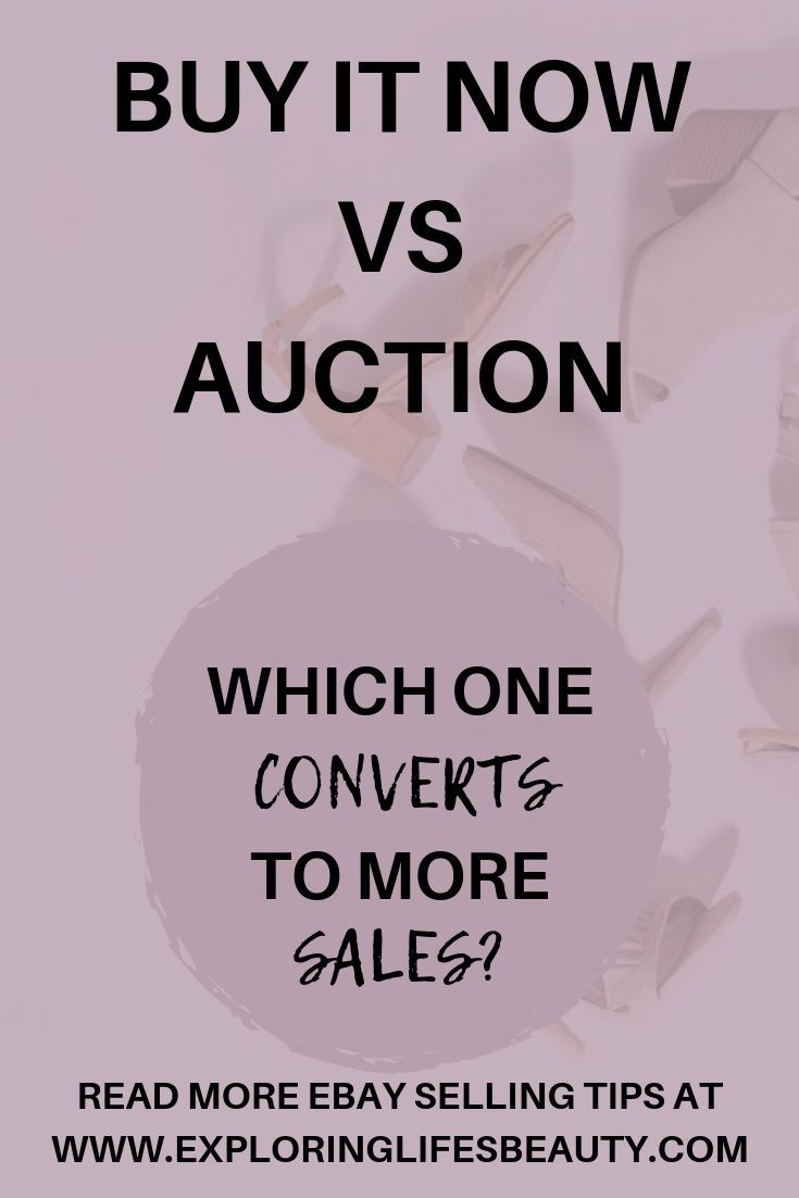 Fixed Price Vs Auction Style In 2020 Ebay Selling Tips Ebay Selling Clothes Making Money On Ebay