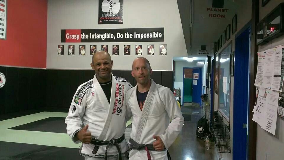 Awesome training last night with Evaldo at Nuetral Grounds in Long Beach, Ca!