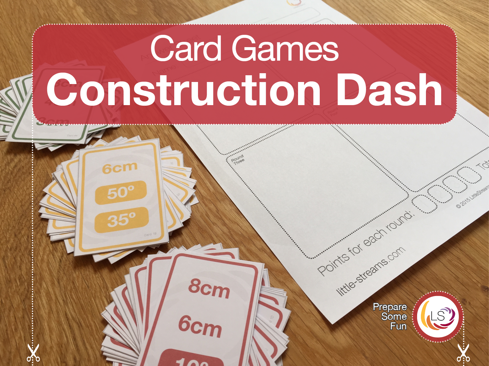 This is a quickfire and competitive card game that makes