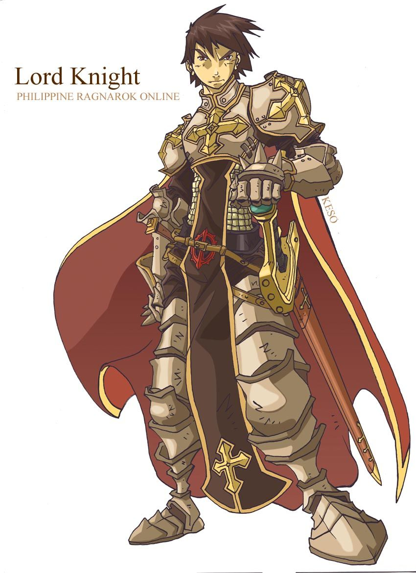 Lord Knight from Ragnarok Online | Character Outfits ...  Lord Knight fro...