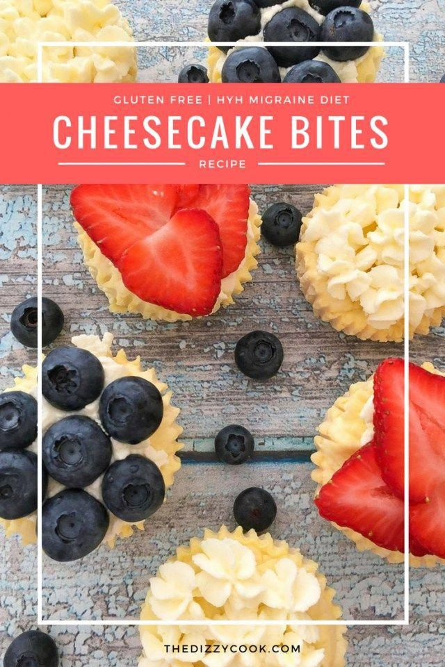 Cheesecake Bites | Gluten Free and Heal Your Headache safe