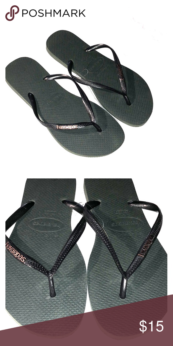 Havaianas Sandals Bnwot True To Size Reference Size Chart For
